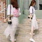 夏�b2018新款初�偃剐∏逍氯棺优�夏ins超火的半身裙潮